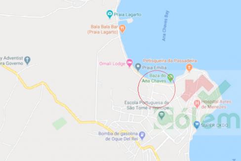 AR11 Apartamento Praia Emilia map
