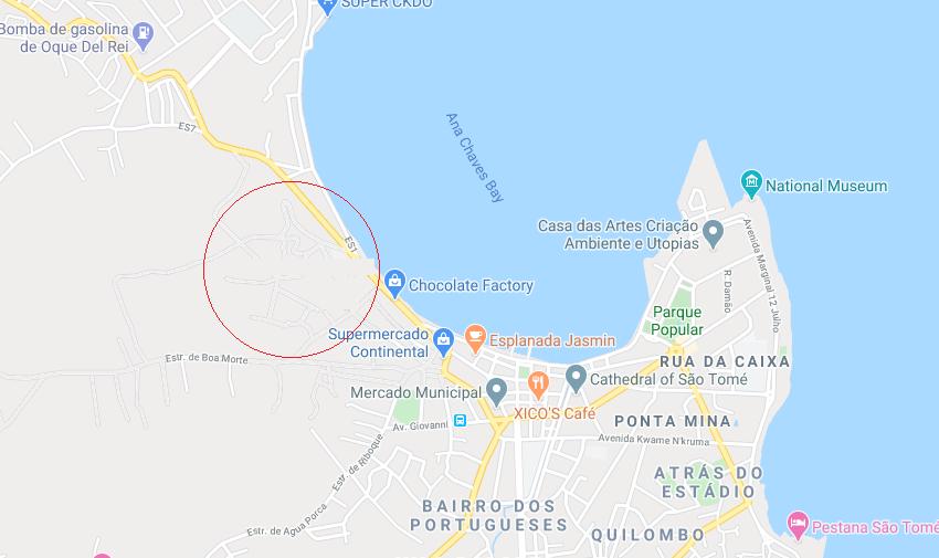 Hotel no centro da cidade map