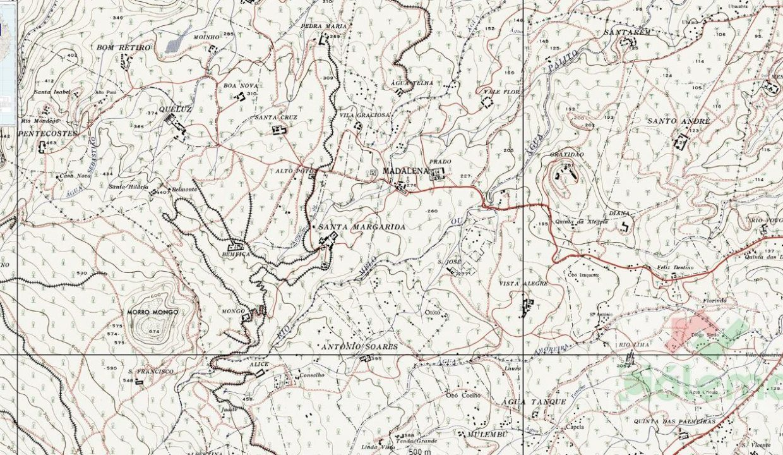 Map-madalena santa margarida